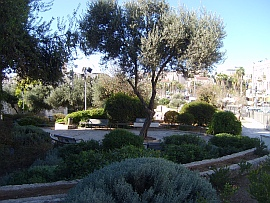 Independence Park in Jerusalem